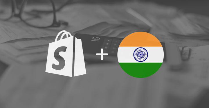 Shopify Taxes India Flag