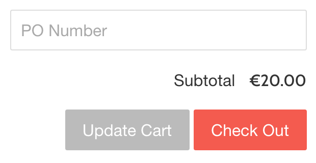 Include PO numbers on your invoices - Sufio for Shopify